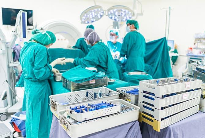 Konfektionierung von Implantaten