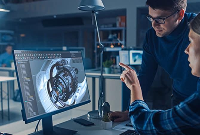 Maßgeschneiderte 3D-Softwarelösungen